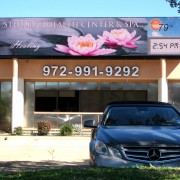 Dragon 10mm LED sign Dallas, TX